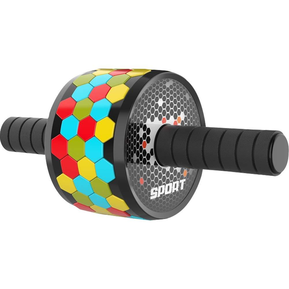 Byx- Abdominal Abdomen Roller Men's Beginners Women's Sports Abdomen Abdomen Thin Waist Abdomen Pulley Home Fitness Equipment -Roller Wheel (Color : C)