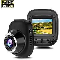 Car Dash Cam / Dash Camera, Mini FHD 1080p Dashboard Camera Car DVR Video Recorder with Night Vision, 170°Wide Angle, G-sensor, Loop Recording