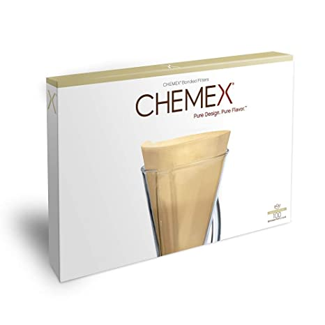 Amazon.com: Chemex FP-2N - Filtros para media luna (100 ...