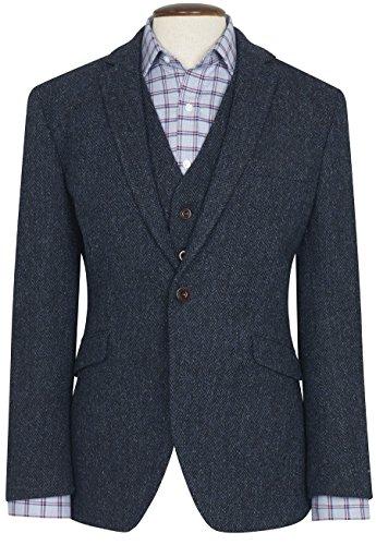Harris Tweed Lightweight Collection Stranraer Jacket (40L,Stranraer )