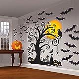 Familia Friendly Halloween Set de Escena de pared