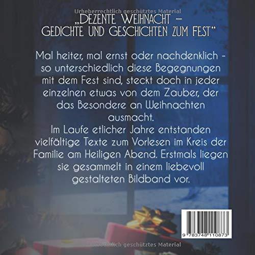 Dezente Weihnacht: Gedichte und Geschichten zum Fest: Amazon.de ...