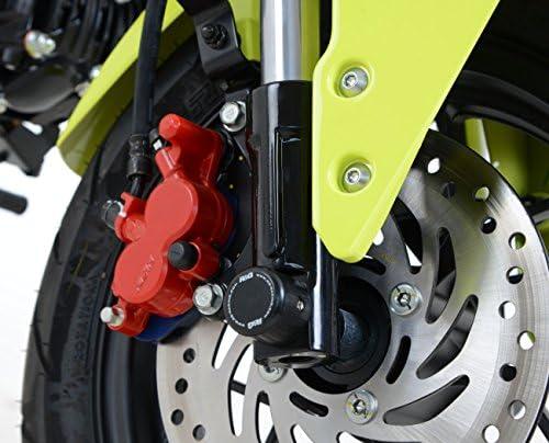 R/&G Racing Fork Axle Sliders Protectors for Honda MSX125 GROM FP0102BK