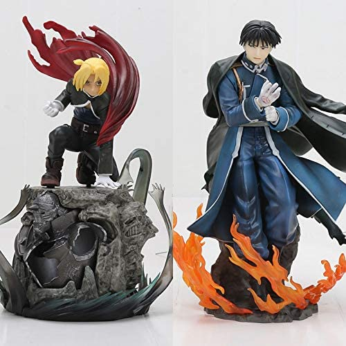 LIZHIOO Anime Fullmetal Alquimista Edward Elric & Roy Mustang ...