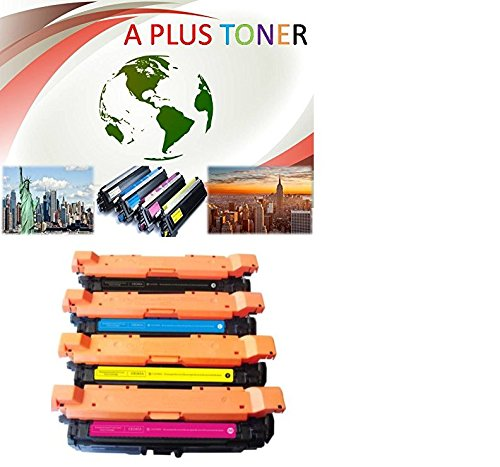 Toner Plus Compatible Toner Cartridge Replacement for HP 250A