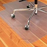 Office Chair Mat for Hard Floors | Lipped |Polycarbonate (PC) |Size 36'' x 48'' | Multiple Sizes Available