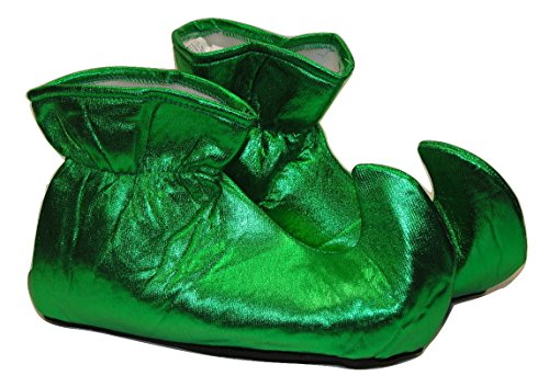- MyPartyShirt Green Cloth Elf Shoes