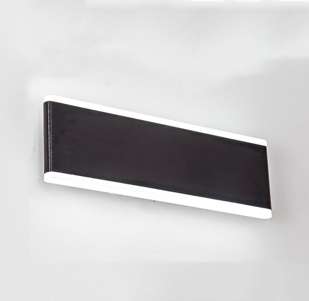 risparmia fino al 70% QQB Luce Esterna Esterna Esterna Lampada da Parete a LED da Comodino Lampada da Parete Rettangolare da Comodino Lampada da Parete Minimalista Minimalista (colore   30-Warm Light)  tempo libero