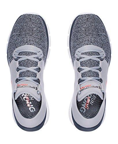 Under-Armour-Mens-UA-SpeedForm-Fortis-2-TXTR-Running-Shoes-10-DM-US-Overcast-GrayWhiteBolt-Orange