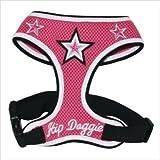 Hip Doggie Pink Super Star Mesh Harness Vest, X-Small, My Pet Supplies