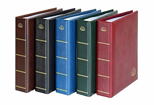 Lindner 5800 - W Postcard-Album LOTOS-wine-red