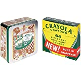 Crayola 60th Anniversary 64 Count Crayon Set with Collectible Tin, Gift