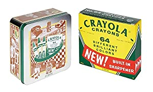 Crayola 60th Anniversary 64 Count Crayon Set with Collectible Tin, (Amazon Exclusive)
