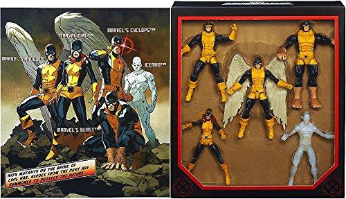 te hará satisfecho Marvel Legends Exclusive All New X-Men Set [Cyclops, [Cyclops, [Cyclops, Angel, Marvel Girl, Iceman & Beast] by Marvel  precioso