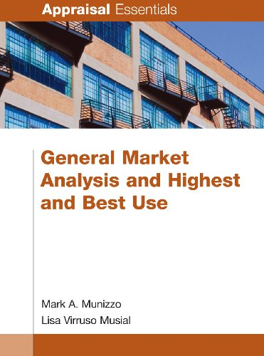 General Market Analysis and Highest and Best Use (Appraisal Essentials)