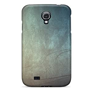 Hot Scratched Cyan First Grade Tpu Phone Case For Galaxy S4 Case Cover