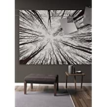 URIDOM Bohemian Forest Pattern Tapestry with No-Fading Digital Printing Clear Patterns, Multiple Uses - Wall Hanging Art for Dorm Décor