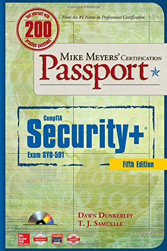 Price comparison product image Mike Meyers' CompTIA Security+ Certification Passport, Fifth Edition  (Exam SY0-501)