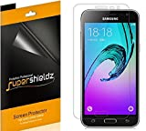 (6 Pack) Supershieldz for Samsung Galaxy J3 (2016) (AT&T, Verizon, Boost Mobile, Virgin Mobile) Screen Protector High Definition Clear Shield (PET)