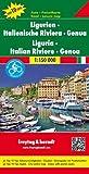 Liguria - Italian Riviere - Genoa 1 : 150 000 Italy Regional Map FB (English, French, Italian and German Edition)