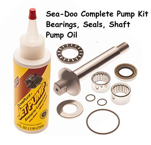 - Sea Doo Complete Pump Rebuild Kit Shaft, Bearings And Oil 717 720 GTS GTI Le