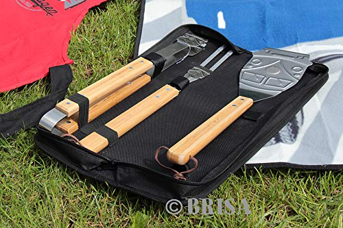 VW Collection by BRISA VW T1 Bus BBQ 3-pc Utensil Set with Carrying Case by VW Collection by BRISA (Image #3)