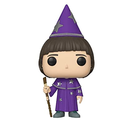 Funko- Pop Vinilo: Stranger Things: Will (The Wise) Figura Coleccionable, Multicolor, Talla Única (38533)