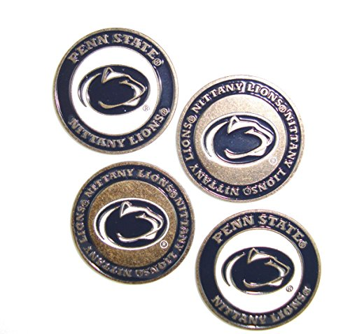 (Penn State Nittany Lions Double Sided Golf Ball Markers (Set of 4))