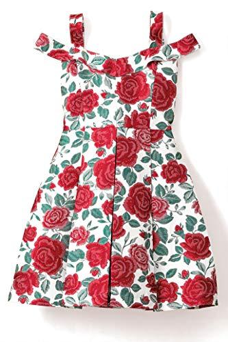 Chasing Fireflies Girls Riot of Roses Dress ()