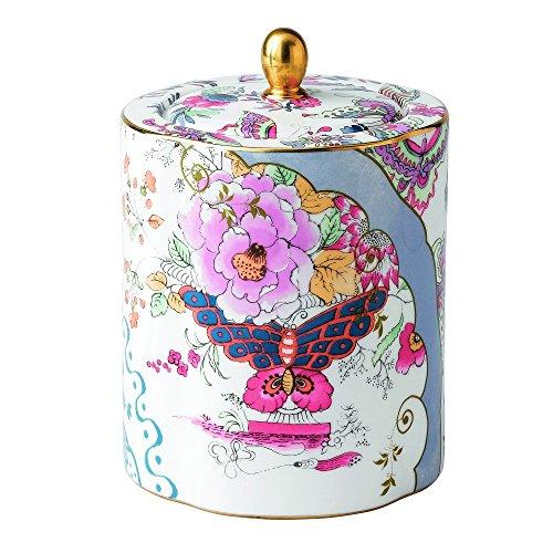 Wedgwood 5C10780052 Harlequin Butterfly Bloom Ceramic Tea Caddy (Set Teapot Wedgwood)