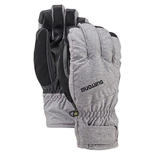 Burton Profile Under Gloves, Monument Heather, Large (Profile Under Snowboard Gloves)