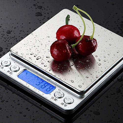 0,01/0,1 g Nuove bilance digitali LCD di precisione Bilance da 500 Grammi / 1/2 / 3 kg Mini bilance elettroniche per bilance per bilance da tè | Bilance da Cucina