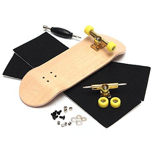 騒々しい修理工傷跡Forfar フォーファー フィンガースケートボード クリエイティブコンプリート 木製の指 スケートボードを指 グリットボックスフォームテープ 木材の色