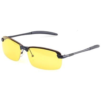 Gafas de sol Polarizadas de la Visión Nocturna HD para los Conductores Antideslumbrante de Conducción de