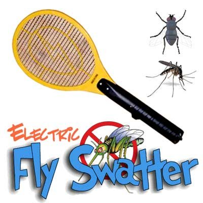 Electric Fly Swatter, Bug Zapper (Green)