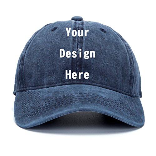 Snapback Hats,Adjustable Hip Hop Baseball Cap Custom Dad Hat ()