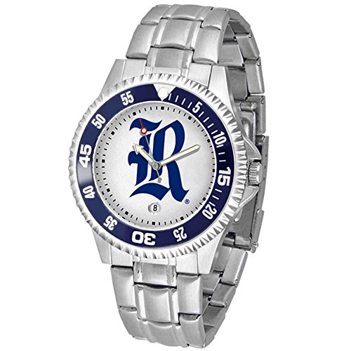 SunTime Rice Owls Competitor Men's Watch with Steel Band