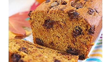 Calabaza cosecha Muffin/Pan mezclar con trocitos de ...