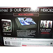 PS3 Injustice: Gods Among Us FIGHT STICK