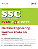 Wiley's SSC Junior Engineer (JE) Exam Goalpost Electrical Engineering Solved Papers and Practice Tests (Paper - I)