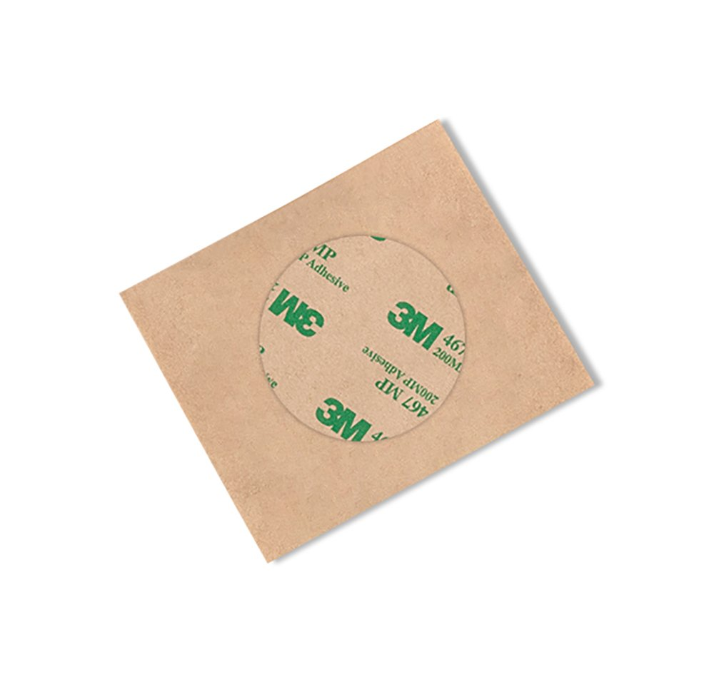 Pack of 100 3M 467MP High Performance Adhesive Transfer Tape 5 Circles