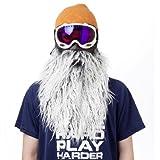 Beardski Harlee Gray Ski Mask, Gray
