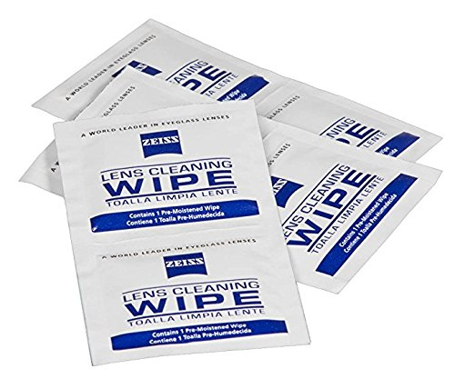Zeiss Pre-Moistened Lens Cleaning Wipes, 6 x 5-Inches, 600 ()