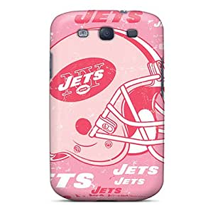 Perfect Hard Phone Case For Samsung Galaxy S3 With Allow Personal Design Lifelike New York Jets Pictures KellyLast