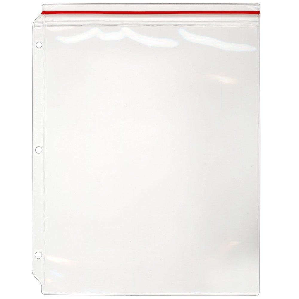 StoreSMART - Supply Zipper Case for 3-Ring Binders - 12-Pack - Vinyl Plastic - VH309-12 StoreSMART®