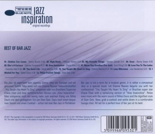 VARIOUS ARTISTS - Jazz Inspiration: Best of Bar Jazz / Various - Amazon.com Music