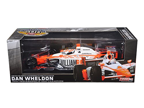 Maisto 2011 Dan Wheldon #98 Bryan Herta Autosport Indy 500 Winner Car Tribute Edition Packaging 1/18 Model Car by Greenlight -