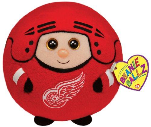 TY Beanie Ballz Detroit Red Wings Plush, Medium]()