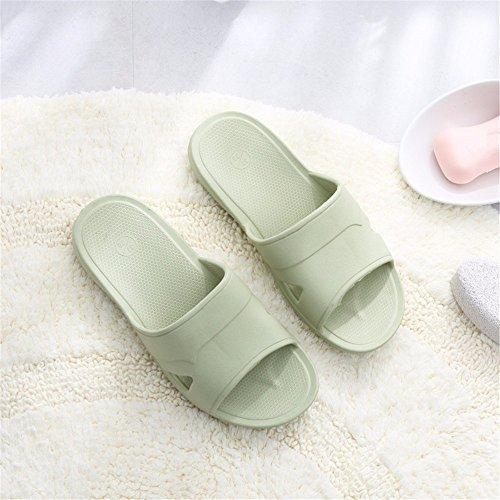 per e toed nuova donne bagno di Estate casa e le YMFIE scarpe skid uomini di green sandali pantofole gli luce piscina 18FqXywA