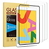 [3 Pack] Screen Protector for iPad 10.2 (2019) - SPARIN Tempered Glass for iPad 10.2 (7th Gen) 2019 Released [High Sensitivity] [Easy Installation] [Bubble Free]